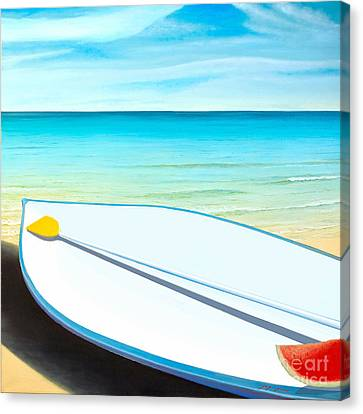 Israeli Summer Canvas Print by Miki Karni