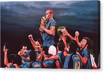 Italia The Blues Canvas Print by Paul Meijering