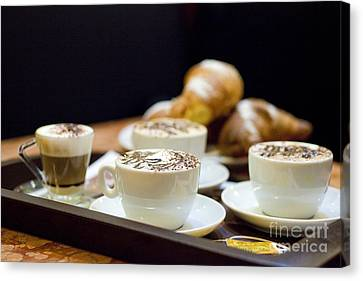 Italian Breakfast Canvas Print by Andre Goncalves