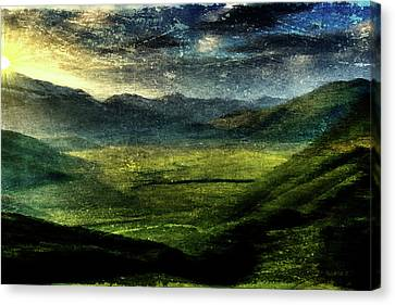 Italian Hills Canvas Print by Andrea Barbieri