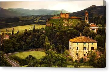 Italian Landscape Canvas Print by Marilyn Hunt