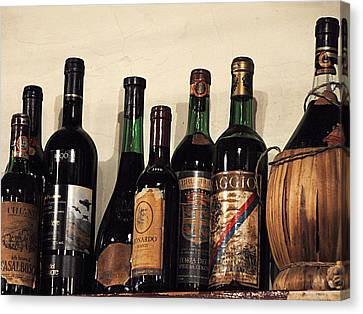 Italian Wine Canvas Print by Marion McCristall