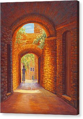 Italy Passages Canvas Print by Elaine Farmer