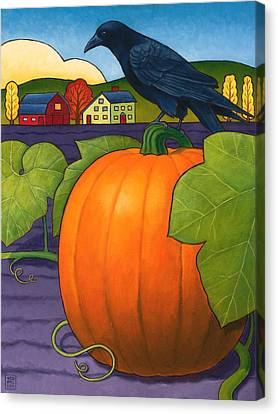 Its A Great Pumpkin Canvas Print by Stacey Neumiller