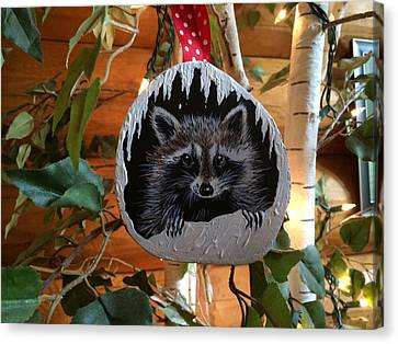 Its A Rocky Christmas Canvas Print by Jennifer Lake
