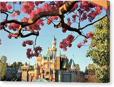 It's Disneyland Canvas Print by Ernie Madera