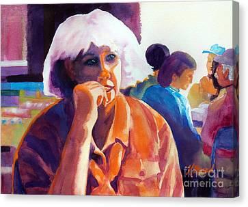 I've Got A Secret Canvas Print by Kathy Braud