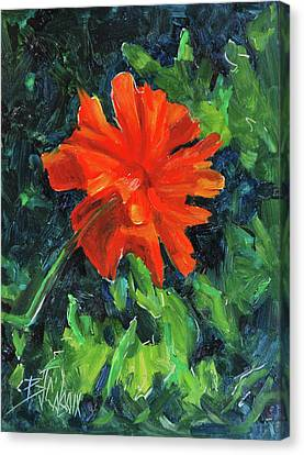 I've Got My Red Dress On Canvas Print by Billie Colson