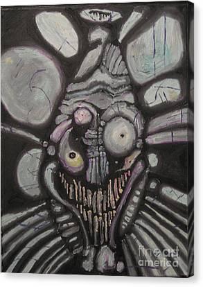 J S. Canvas Print by Ryan Mason