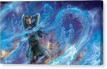 Jace's Origin Canvas Print by Ryan Barger