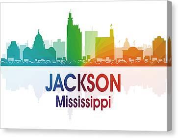 Jackson Ms Canvas Print by Angelina Vick