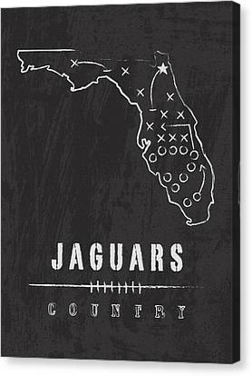 Jacksonville Jaguars Country Canvas Print by Damon Gray