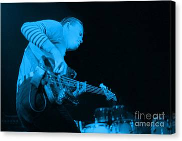 Jaco Up The Deck Canvas Print by Philippe Taka