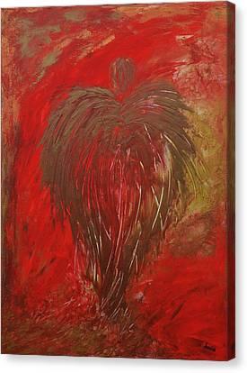 Jaded Angel Canvas Print by Marianna Mills