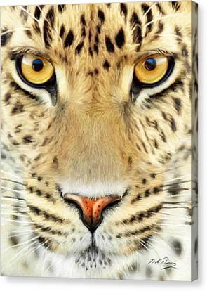 Jaguar Canvas Print by Bill Fleming