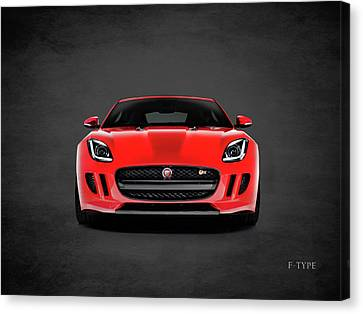 Jaguar F Type Canvas Print by Mark Rogan