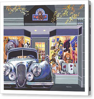 Jaguar The Wild Thing Canvas Print by Mike Hill