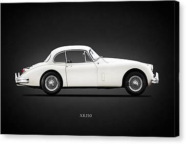 Jaguar Xk150 Canvas Print by Mark Rogan