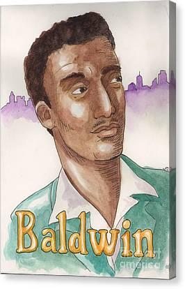 James Baldwin Canvas Print by Whitney Morton