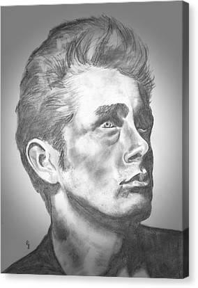 James Dean Canvas Print by Ryan Bell