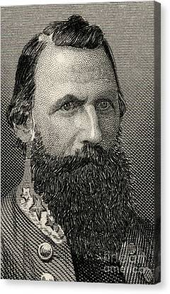 James Ewell Brown  Jeb Stuart Canvas Print by American School