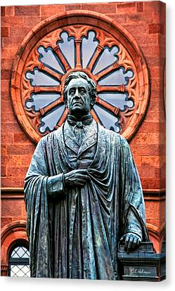 James Smithson Canvas Print by Christopher Holmes