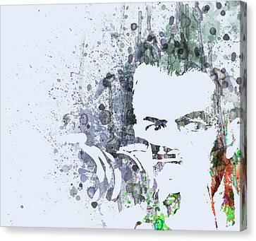 James Steward  Rear Window Canvas Print by Naxart Studio