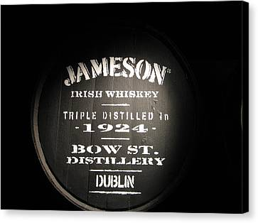 Jameson Canvas Print by Kelly Mezzapelle
