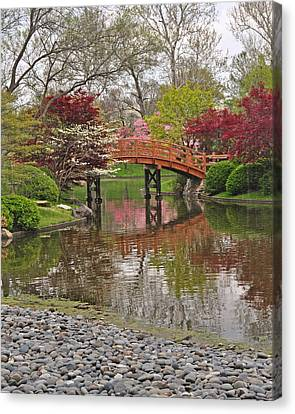 Japanese Garden 5 Canvas Print by Marty Koch