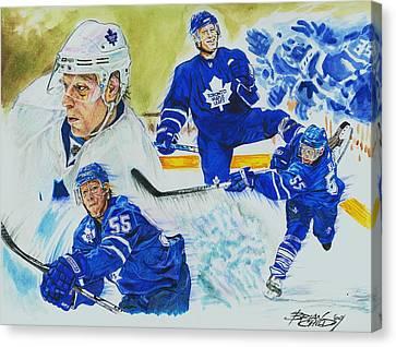 Jason Blake Canvas Print by Brian Child