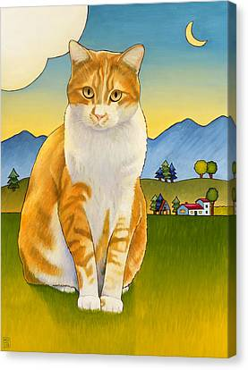 Jasper Canvas Print by Stacey Neumiller