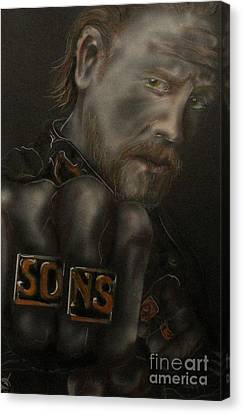 Jax Canvas Print by John Sodja