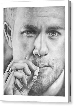 Jax Teller Canvas Print by Heather Andrewski