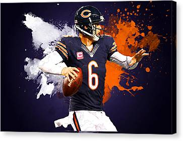 Jay Cutler Canvas Print by Semih Yurdabak