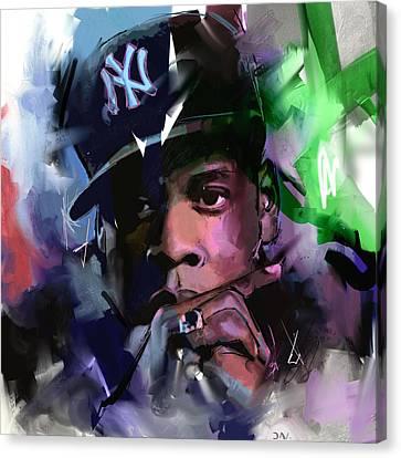 Jay Z Canvas Print by Richard Day