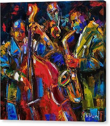 Jazz Canvas Print by Debra Hurd