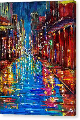 Jazz Drag Canvas Print by Debra Hurd