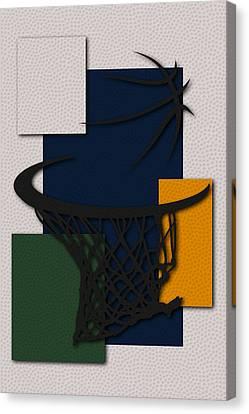 Jazz Hoop Canvas Print by Joe Hamilton