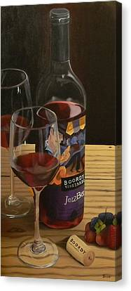 Jazz Me Up Canvas Print by Brien Cole