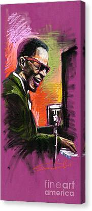 Jazz. Ray Charles.2. Canvas Print by Yuriy  Shevchuk