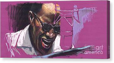 Jazz Ray Canvas Print by Yuriy  Shevchuk