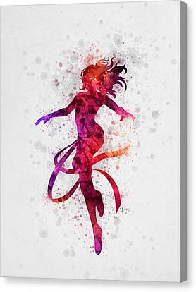 Jean Grey 02 Canvas Print by Aged Pixel