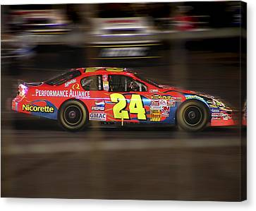 Jeff Gordons Cup Car  Canvas Print by Kenneth Krolikowski