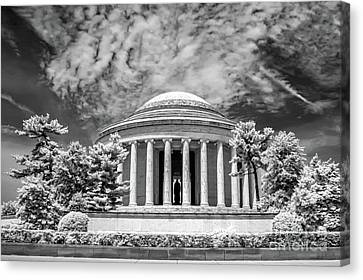 Jefferson Memorial Canvas Print by Anthony Sacco