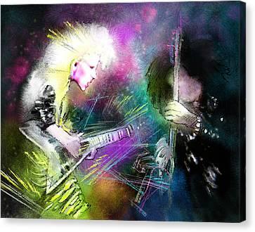 Jennifer Batten Canvas Print by Miki De Goodaboom