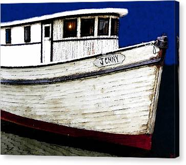 Jenny Canvas Print by David Lee Thompson