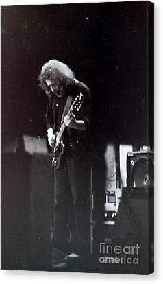 Jerry Garcia - The Grateful Dead Canvas Print by Susan Carella
