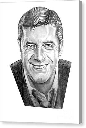 Jerry Lewis Canvas Print by Murphy Elliott