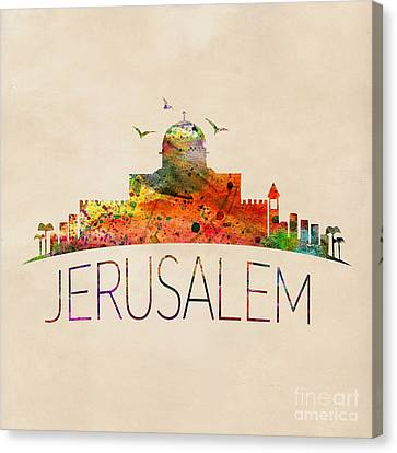 Jerusalem Canvas Print by Mark Ashkenazi