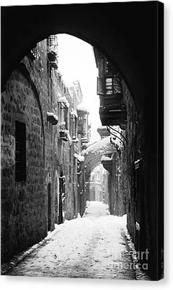 Jerusalem: Winter Canvas Print by Granger